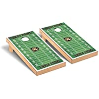 Army Black Knights regulation Cornhole Game Setフットボールフィールドバージョン