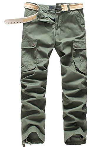 [해외](아너 숍) HonourShop 남성 카고 바지 바지 넓은 작업 바지 밀리터리 찌노찌노빤쯔 큰 사이즈/(Honor Shop) HonorShop Men`s Cargo Pants Work Trousers Loose Work Pants Military Chino Chino Pants larger size