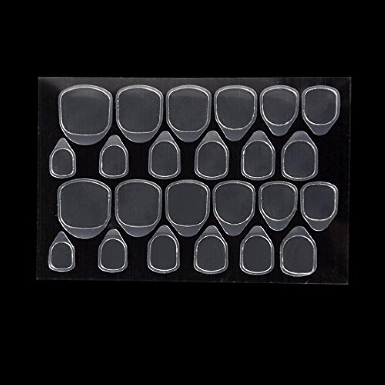ボタン悪因子ドライBiutee つけ爪用 両面テープ ネイル 推奨超強力両面テープ ネイル両面接着剤 ネイルチップ用粘着グミ 10枚セット