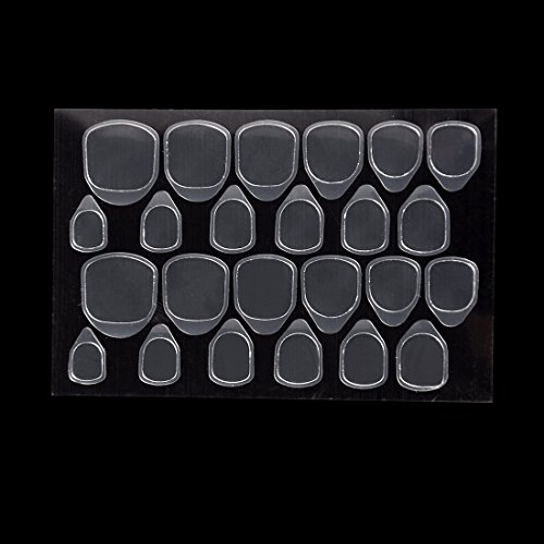 介入する小康変化するBiutee つけ爪用 両面テープ ネイル 推奨超強力両面テープ ネイル両面接着剤 ネイルチップ用粘着グミ 10枚セット
