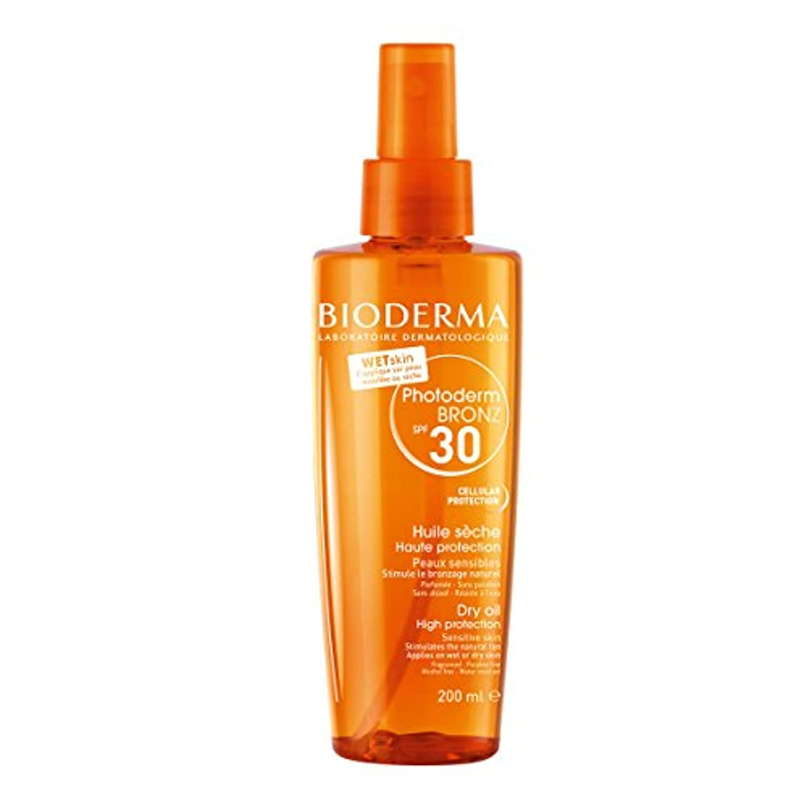 爆発長々と軸Bioderma Photoderm Bronz Spf30 Dry Oil 200ml [並行輸入品]