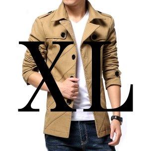 (メイク トゥ ビー) Make 2 Be スタイリシュ メンズ ジャケット 秋 冬 先取り テラード ジャケット テラジャケ コート MA02 (12.ベージュ_XLサイズ)