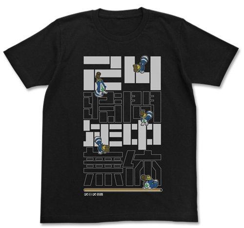 白猫プロジェクト 大工星たぬきTシャツ ブラック Lサイズ