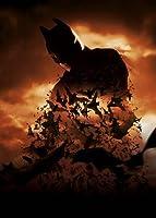インポートポスターバットマンビギンズ–クリスチャンベール–アメリカのテキストレス映画ウォールプリント-30CM X 43CM