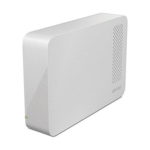 BUFFALO USB3.1(Gen1)/3.0/2.0対応 PC/家電対応 外付けHDD 3TB ホワイト HD-LC3.0U3-WHF -