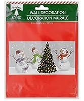 クリスマスパーティー 楽しい景色 背景 シーン セッター 装飾 壁装飾 ホワイト 207877