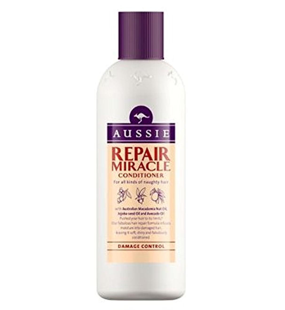 高潔な恐竜満足傷んだ髪の250ミリリットルのためのオージーコンディショナー奇跡の修理 (Aussie) (x2) - Aussie Conditioner Miracle Repair for damaged hair 250ml (...