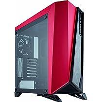 Corsair SPEC-OMEGA Tempered Glass -Black & Red- ミドルタワー型PCケース [強化ガラスモデル] CS7116 CC-9011120-WW