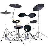 MAXTONE トレーニングドラムセット 2シンバルモデル ドラム椅子 スティック付属 TD-5CST