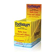 Footherapy Mineral Salt - Trial Size - Case of 6 - 3 oz by Queen Helene