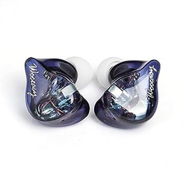 WOOeasy audio DB2 ハイブリッドドライバイヤホン 1BA+1DD 高性能 hybrid インイヤーイヤホン