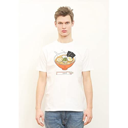 (グラニフ)graniph ベーシックTシャツ / ラーメンクン ( ホワイト ) (XL)