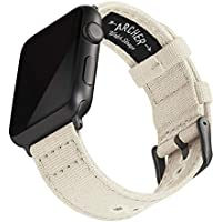 Archer Watch Straps - Canvas Watch Bands for Apple Watch | Multiple Colors, 38/40mm, 42/44mm