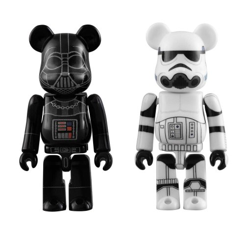 BE@RBRICK DARTH VADER™ & STORMTROOPER™ 2 PACK(ABS&PVC塗装済みアクションフィギュア)