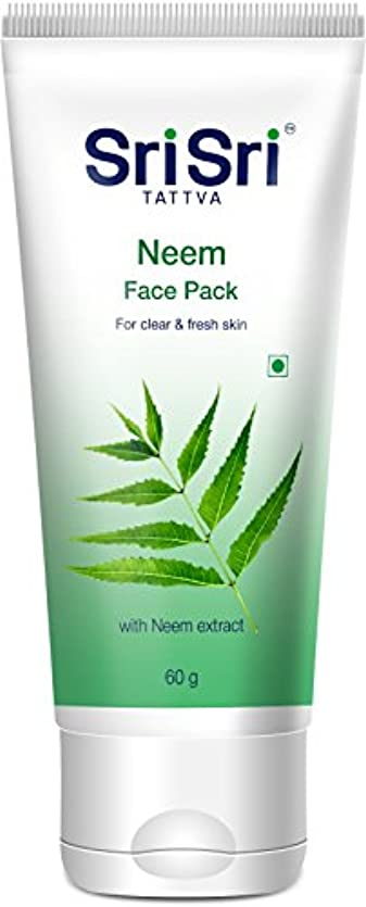 住居スリルパイルSri Sri Tattva Neem Face Pack - 60 g