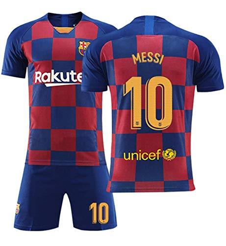 df6258242597da メッシ サッカーユニフォーム 19-20 FCバルセロナ アウェイ 背番号10 レプリカサッカーユニフォーム 子供