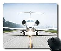 航空機デスクトップ、マウスマット、fighterz dlc、ステッチングエッジ付きマウスパッド