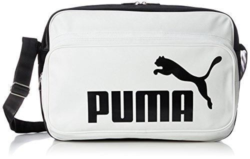 [プーマ]ショルダーバッグ トレーニング PU ショルダー L ホワイト/ブラック(03)