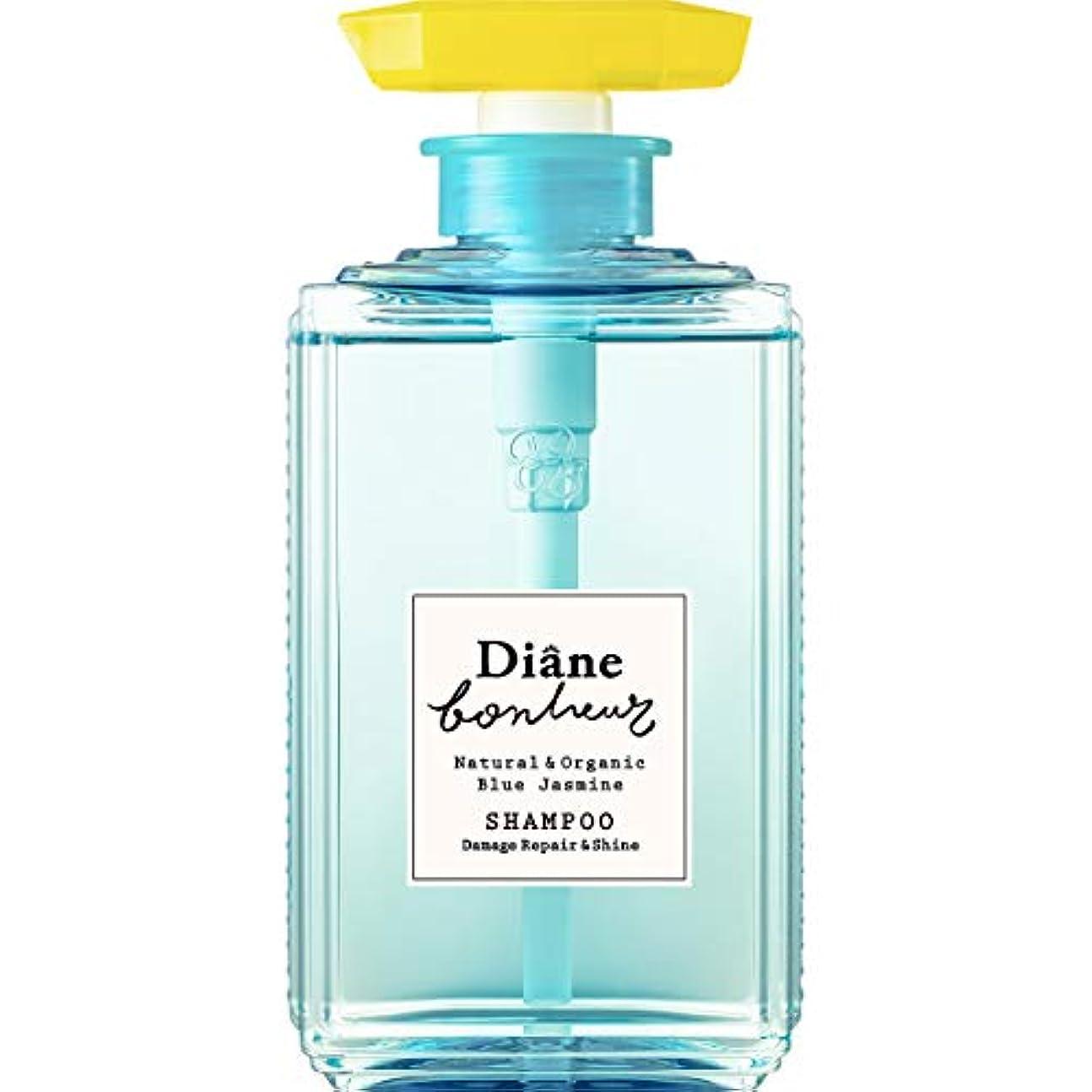 鏡それから地図ダイアン ボヌール シャンプー ブルージャスミンの香り ダメージリペア&シャイン 500ml