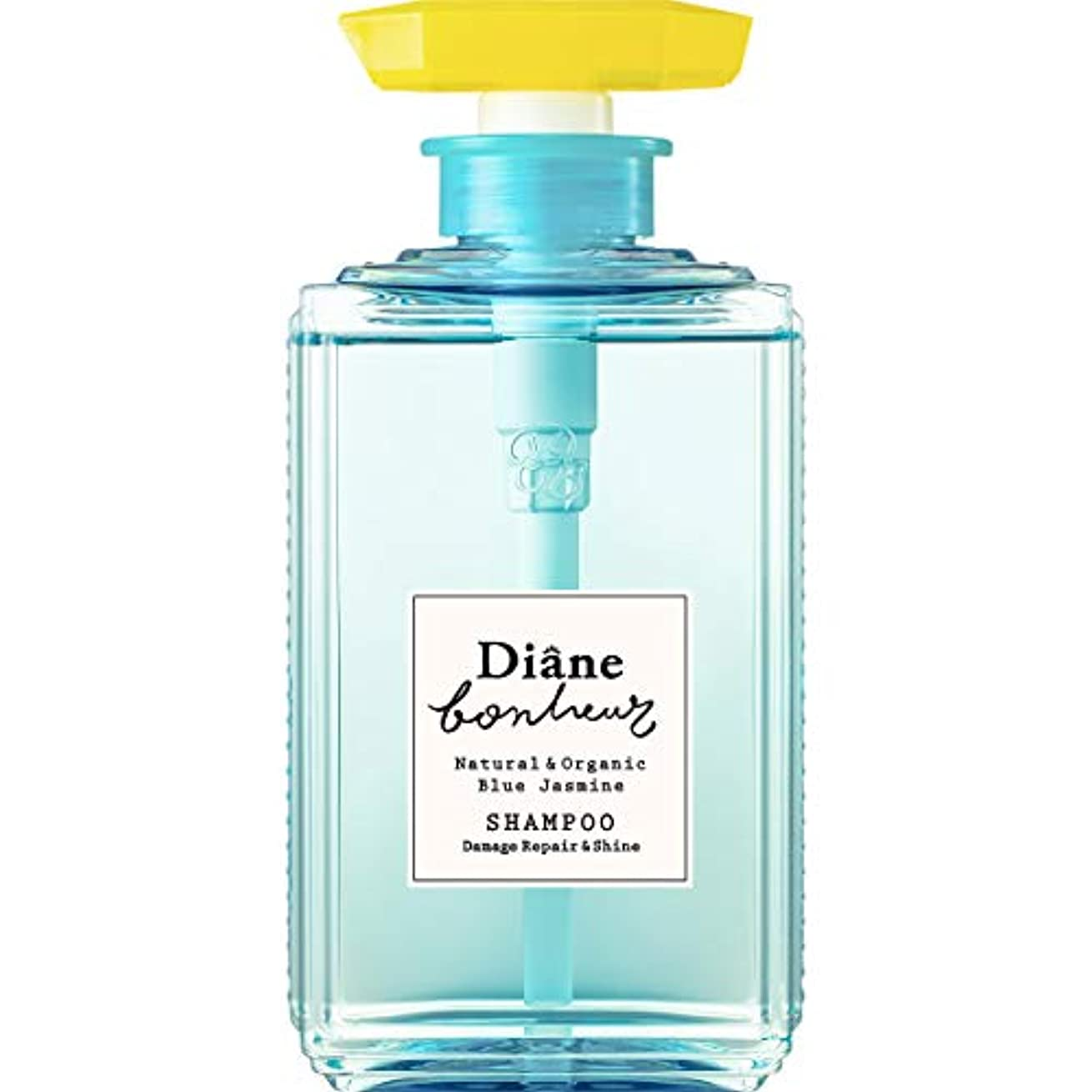 に付ける鎖旅客ダイアン ボヌール シャンプー ブルージャスミンの香り ダメージリペア&シャイン 500ml