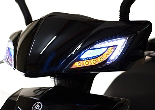 【DFT】YAMAHA cygnus-x シグナスX SE44J 2型 LED ウインカー 左右セット ポジション付 (ブルー)