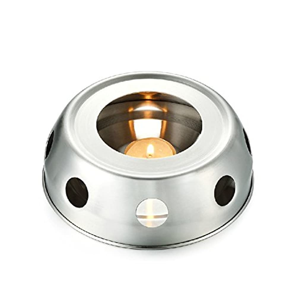 写真を撮る作成する文字通りfunnytoday365 Teaヒーター暖房のティーポットincenseplate Essencial OilステンレススチールFurnace Candleヒーターストーブ