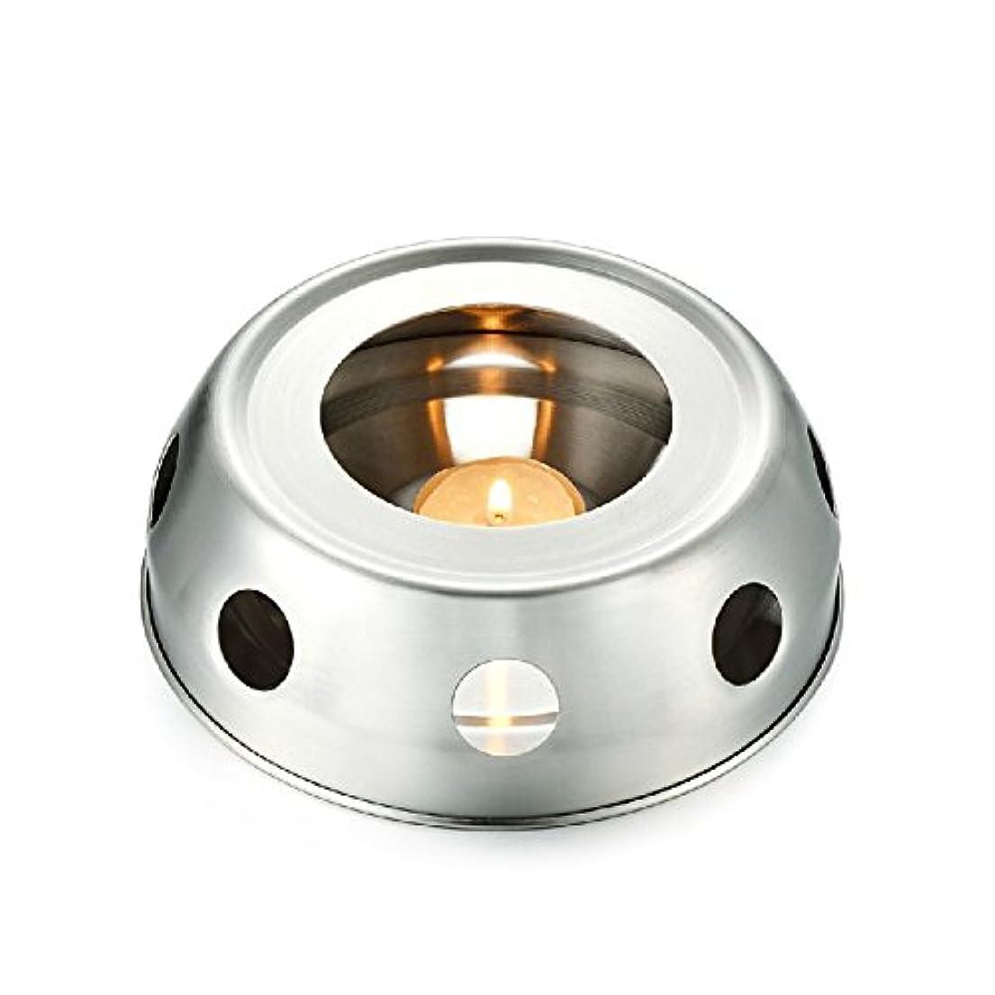 トランスミッション北極圏どこfunnytoday365 Teaヒーター暖房のティーポットincenseplate Essencial OilステンレススチールFurnace Candleヒーターストーブ