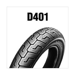 DUNLOP(ダンロップ)バイクタイヤ D401 リア 150/80B16 M/C 71H チューブレスタイプ(TL) Harley-Davidsonロゴ入り ブラックサイドウォール(BW) 253219 二輪 オートバイ用