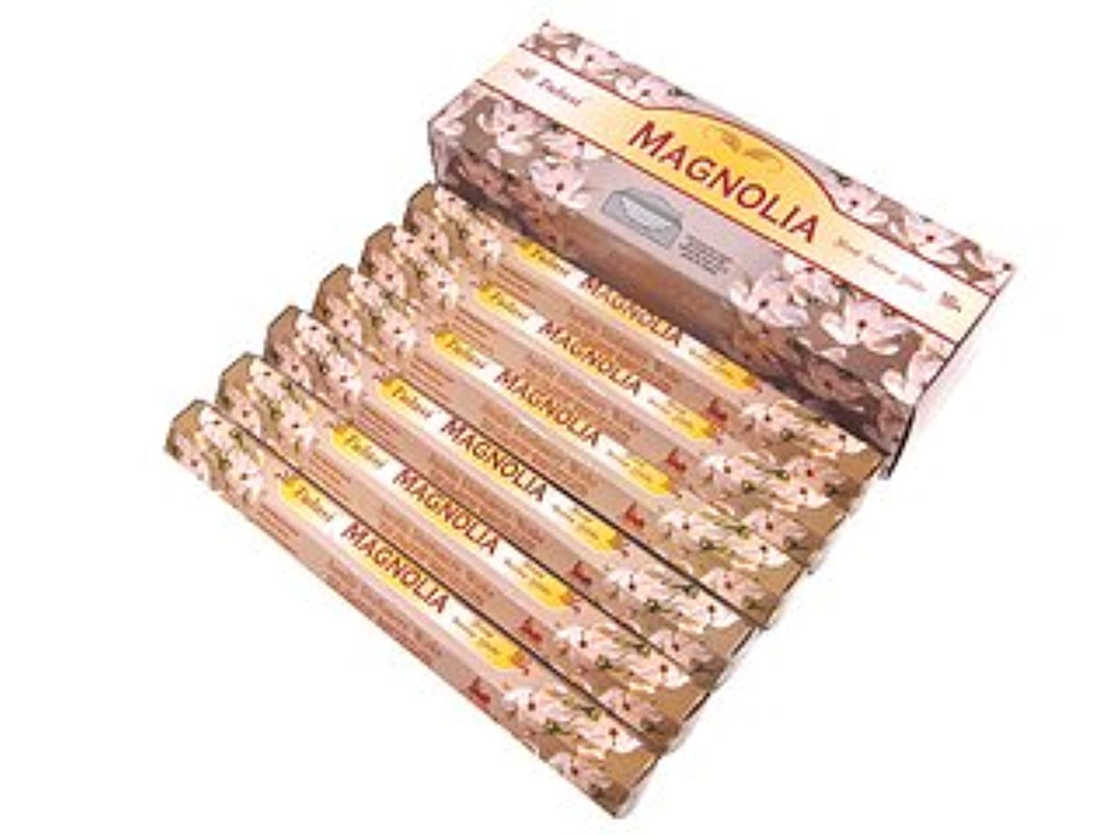 小さいコメント話をするTULASI(トゥラシ) マグノリア香 スティック MAGNOLIA 6箱セット