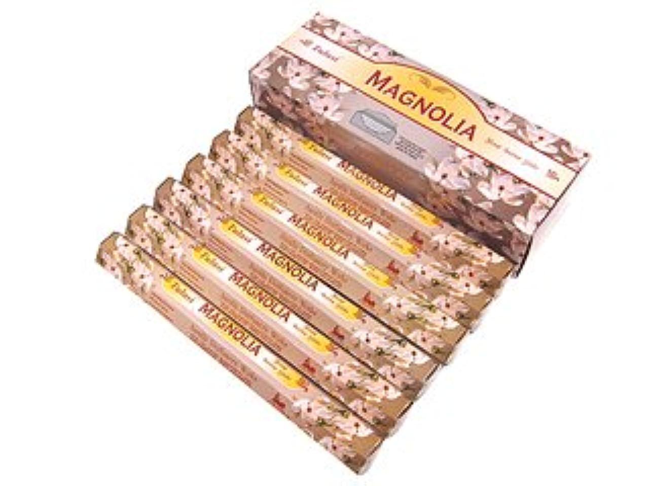 マークされため言葉みすぼらしいTULASI(トゥラシ) マグノリア香 スティック MAGNOLIA 6箱セット