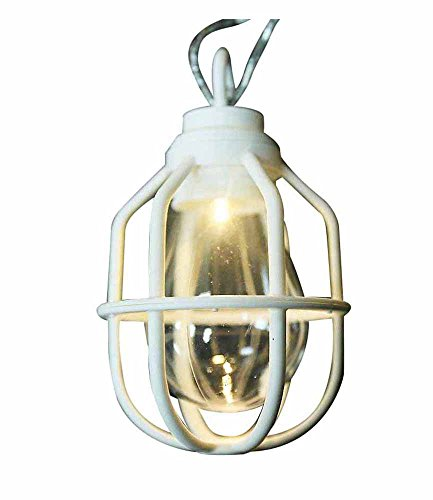 RoomClip商品情報 - ドウシシャ ガーデンライト 屋外 LED電池式ライト 10球 クラシックランプ ホワイト LPB-CR10W
