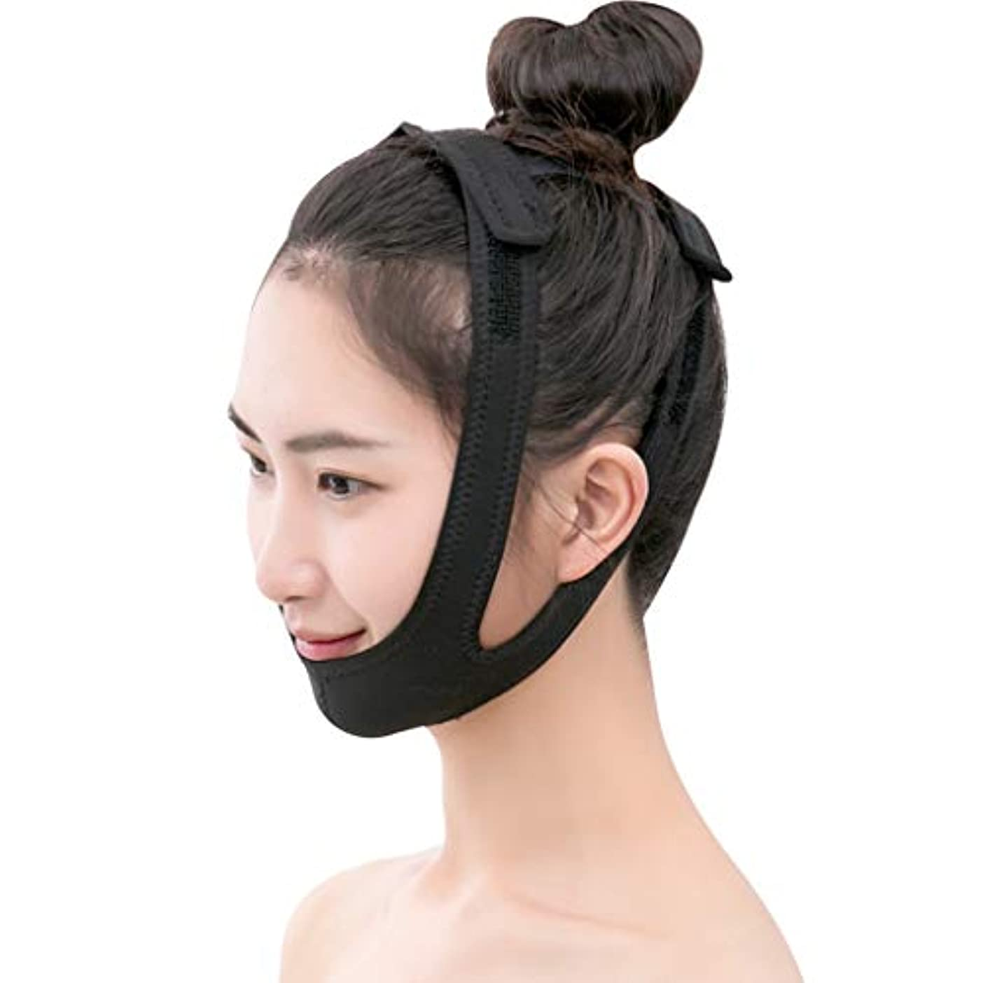 高さ感染する退屈させる顔リフト手術回復ライン彫刻顔リフト顔のリフト v 顔睡眠マスク