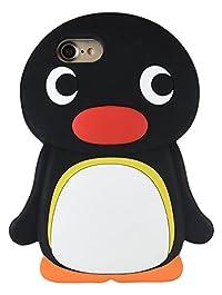 グルマンディーズ ピングー iPhone7(4.7インチ)対応 シリコンケース ピングー pg-50a
