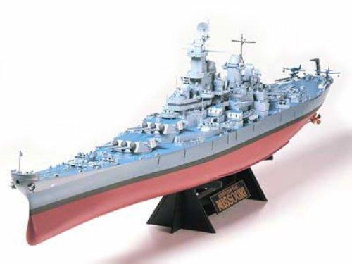 1/350 艦船 No.18 1/350 アメリカ海軍 戦艦 ミズーリ 78018