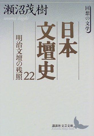 日本文壇史22 明治文壇の残照 (講談社文芸文庫)