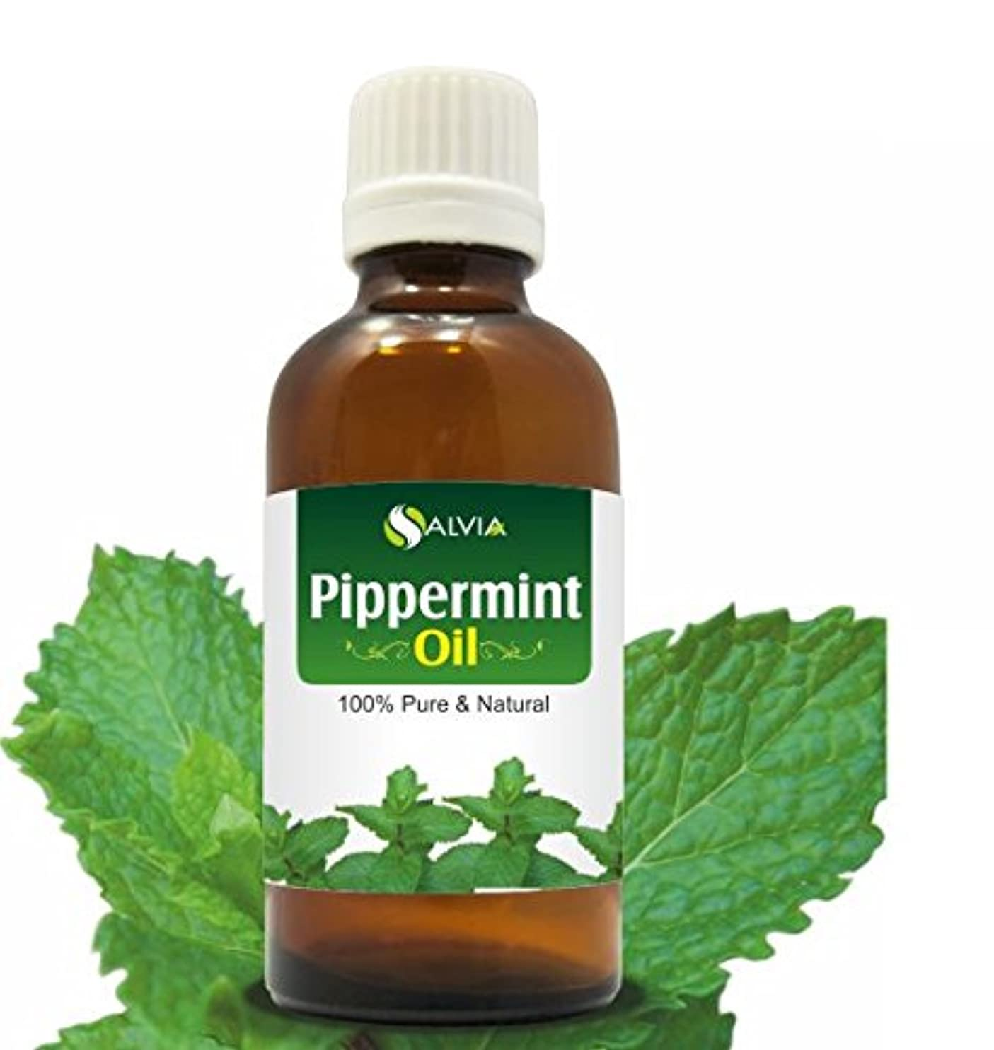 タック静める最近PEPPERMINT OIL 100% NATURAL PURE UNDILUTED UNCUT ESSENTIAL OIL 50ML