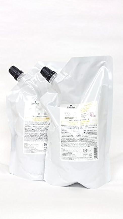 レベル関係する炭水化物シュワルツコフ BCクア カラーセーブ シャンプーa 600ml リフィル【2セット】