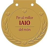 Per al millor iaio del món : una medalla per a algú molt especial!
