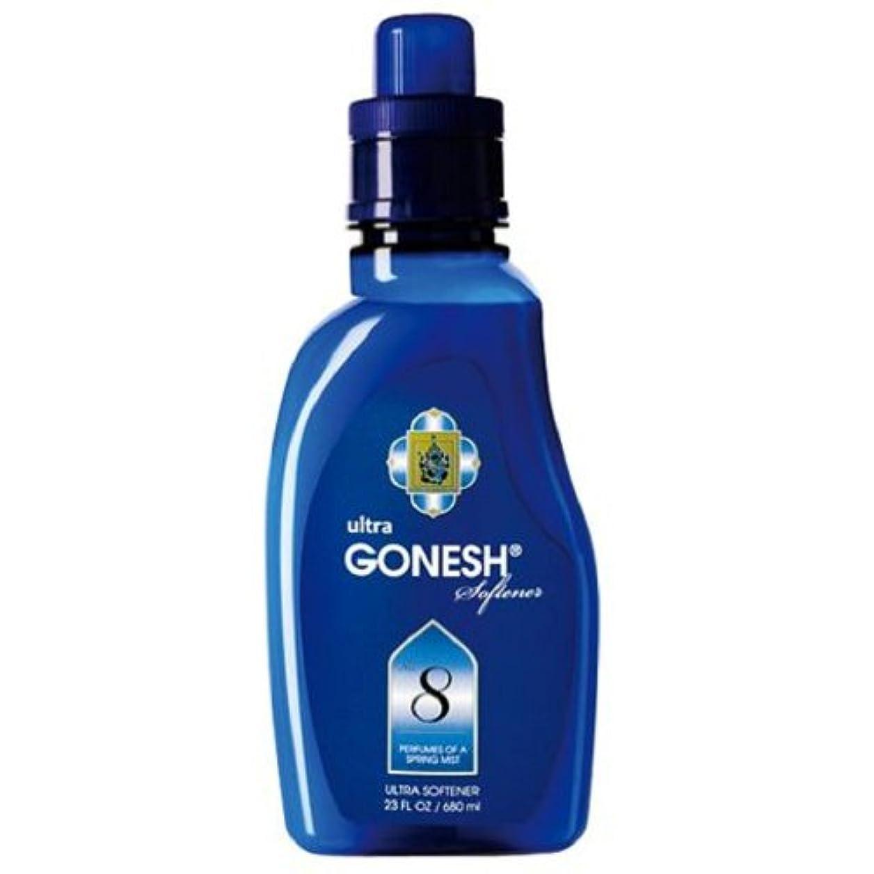 振動するショッピングセンター繊維GONESH(ガーネッシュ)ウルトラソフナー NO.8 680ml 柔軟剤 (ほのかに甘いフルーツ系の香り)