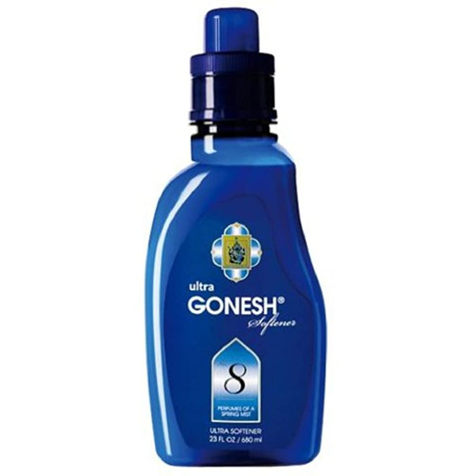 余剰憎しみの前でGONESH(ガーネッシュ)ウルトラソフナー NO.8 680ml 柔軟剤 (ほのかに甘いフルーツ系の香り)