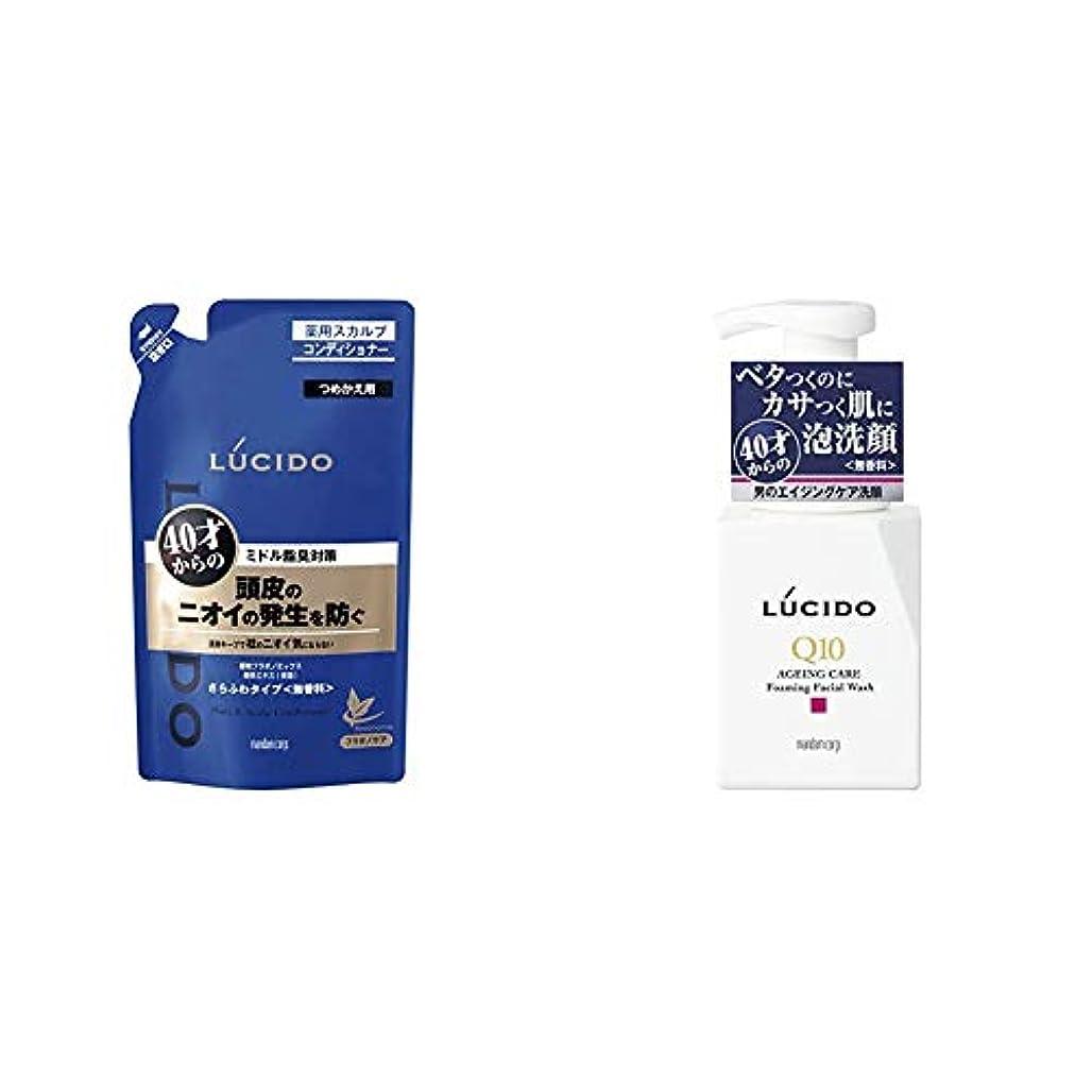 やがてメドレーソートルシード 薬用ヘア&スカルプコンディショナー つめかえ用 380g(医薬部外品) & LUCIDO(ルシード) トータルケア泡洗顔 Q10 150mL