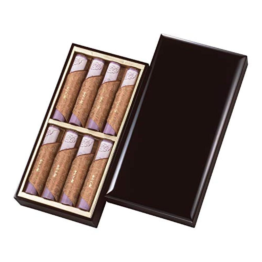 欲望外交日記伽羅大観 塗箱短寸 8入