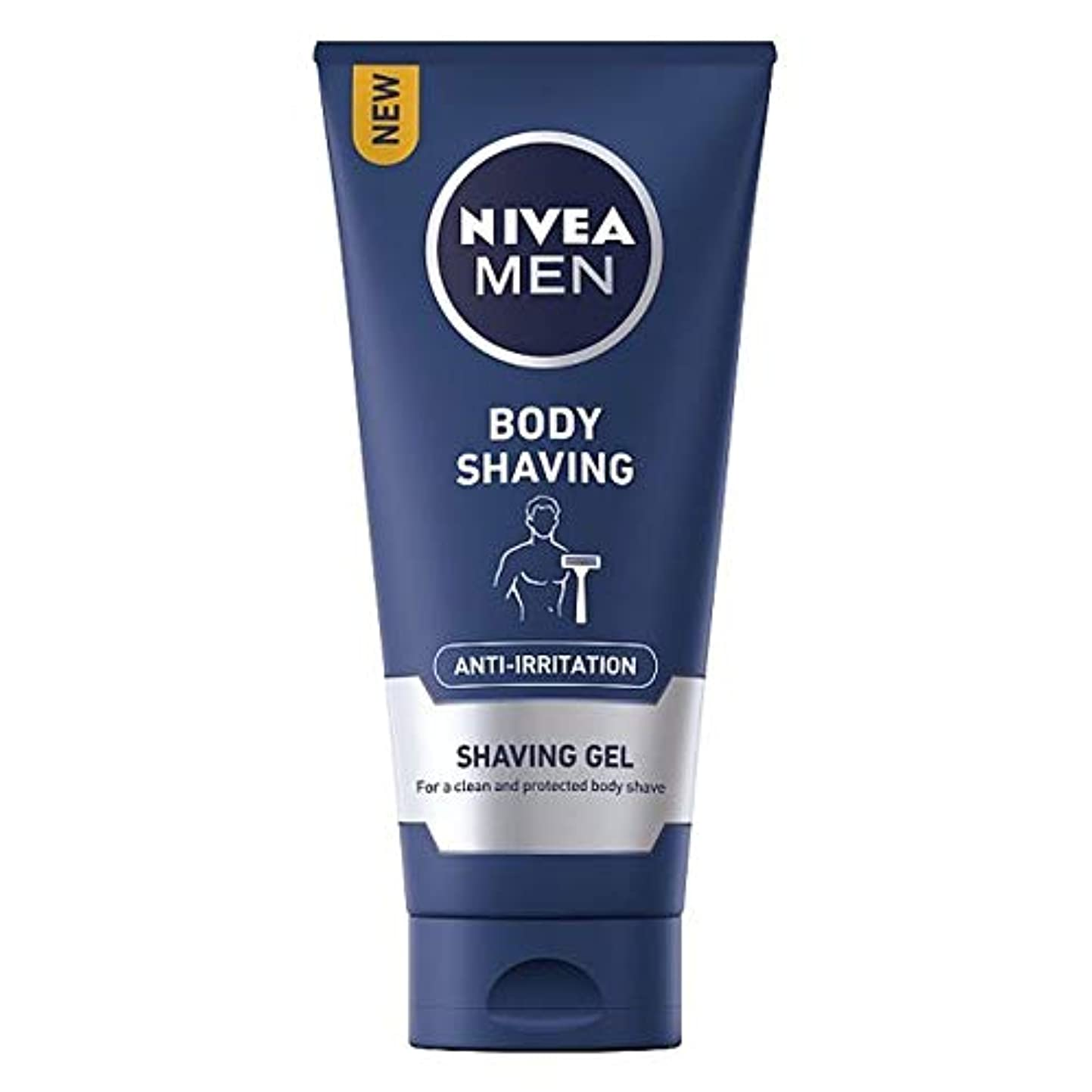 優越体操選手アプライアンス[Nivea] ニベア男性はひげをそるゲル200ミリリットルを保護し、ケア - Nivea Men Protect And Care Shave Gel 200Ml [並行輸入品]