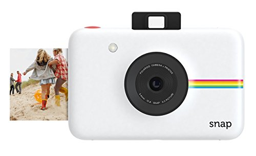 【データも保存できる】ポラロイド Snap デジタルインスタントカメラ (ホワイト)