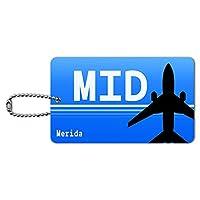 私にrida メキシコ(MID)空港コード IDカード荷物タグ