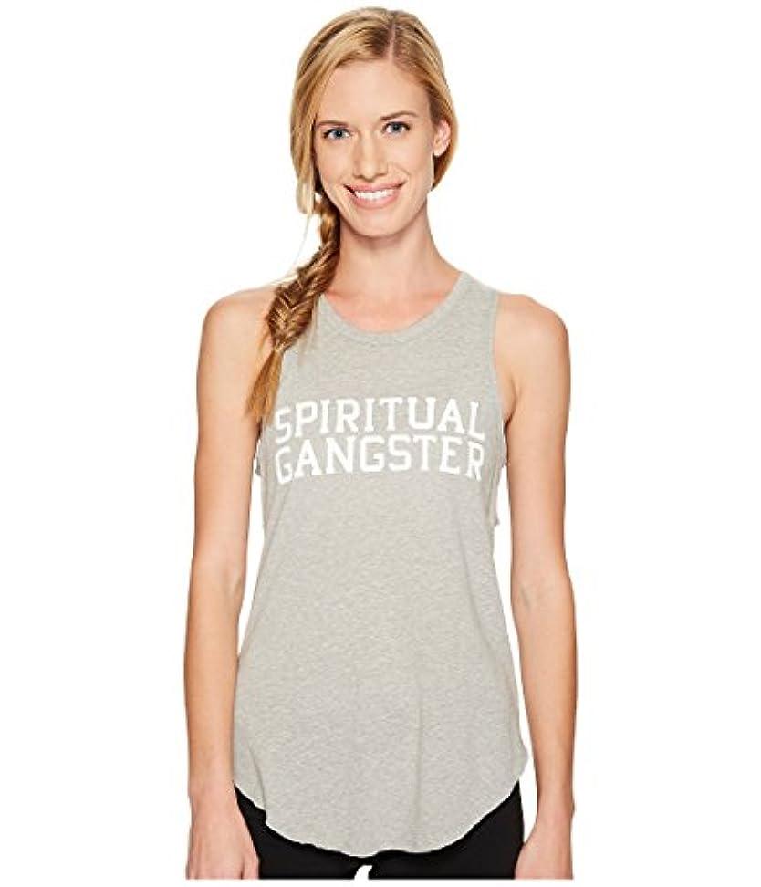 させる用心するバラ色[スピリチュアルギャングスター] Spiritual Gangster レディース SG Varsity Studio Tank Top トップス Heather Grey LG [並行輸入品]