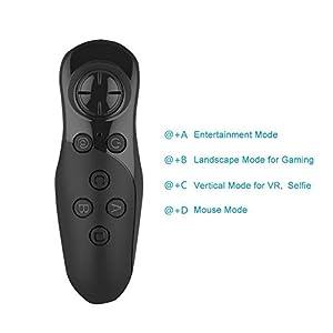 IFLYING ワイヤレスBluetoothゲームパッド ミニゲームコントローラ 3D VRメガネAndroid/IOS/PC用
