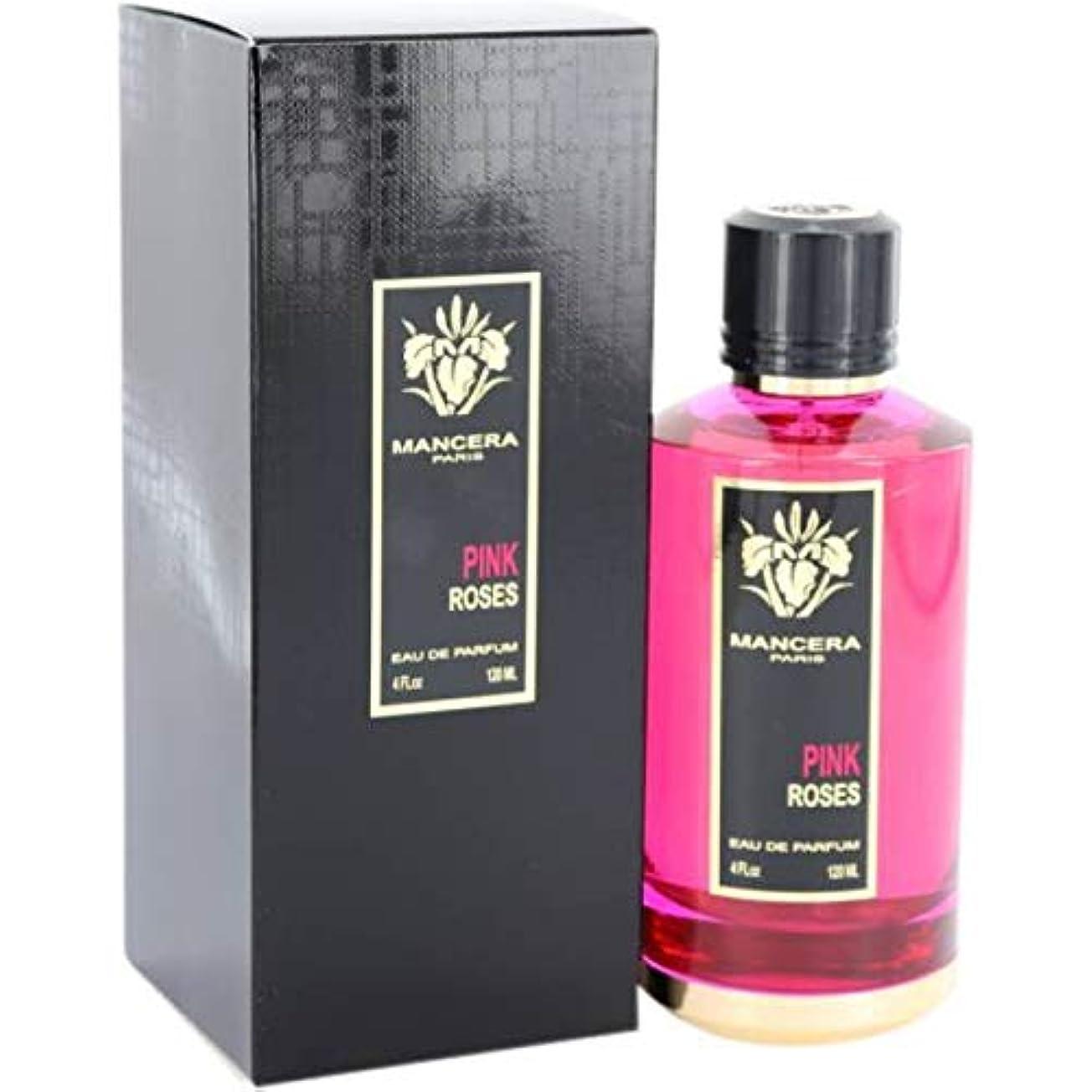 カウントアップ放射する別にMancera Pink Roses Eau de Parfum 4.0 oz./120 ml New in Box