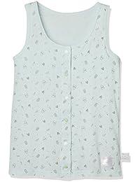 [ガロー]女の子 子供用介護肌着 胸二重タンクトップ 前開きタイプ コスメ柄 ガールズ