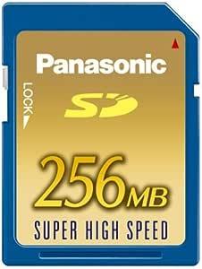 パナソニック SDメモリーカード256MB RP-SDH256N1A